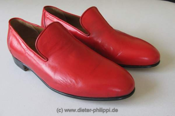Loafer Papst, Pastloafer, Schuhe Papst, Rote Schuhe Papst Benedikt XVI