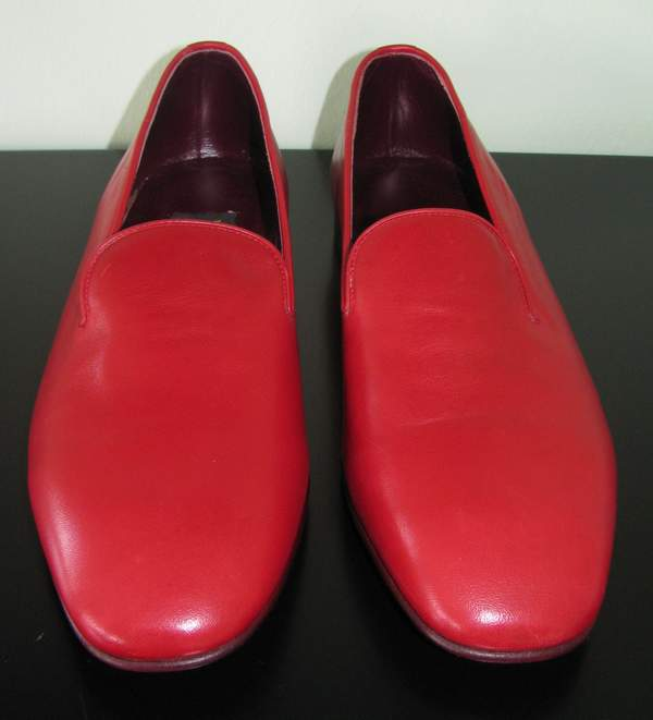 Rote Papst Schuhe, papal shoes, Papst Loafer, Pope Loafers, rote Schuhe Papst Benedikt, red shoes Pope Benedict